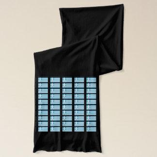 Flagge von Griechenland-Schal Schal