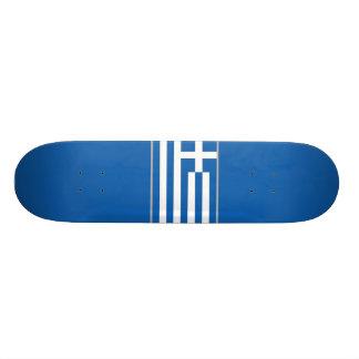 Flagge von Griechenland-Skateboard Personalisierte Decks