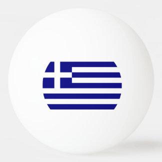 Flagge von Griechenland Tischtennis Ball