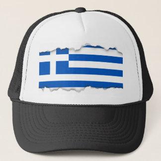 Flagge von Griechenland Truckerkappe