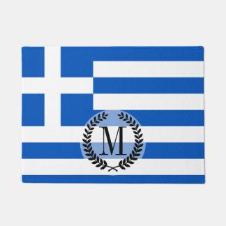 Flagge von Griechenland Türmatte