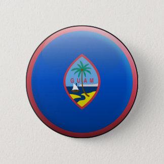 Flagge von Guam Runder Button 5,1 Cm