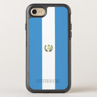 Flagge von Guatemala OtterBox iPhone Fall OtterBox Symmetry iPhone 8/7 Hülle