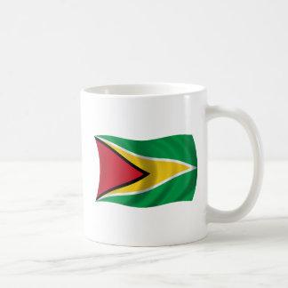 Flagge von Guyana Kaffeetasse