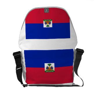 Flagge von Haiti Kuriertasche