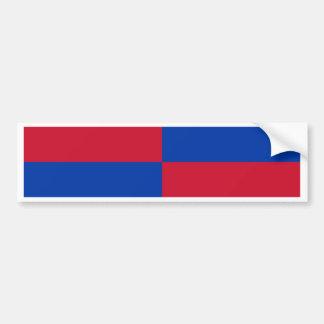 Flagge von Harenkarspel Autoaufkleber