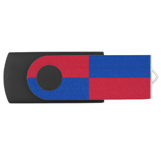 Flagge von Harenkarspel USB Stick