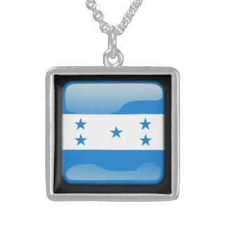 Flagge von Honduras Sterling Silberkette