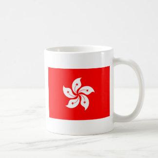 Flagge von Hong Kong Kaffeetasse