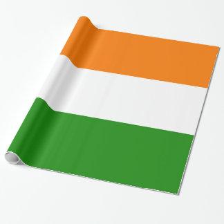 Flagge von Indien Ashoka Chakra Geschenkpapier