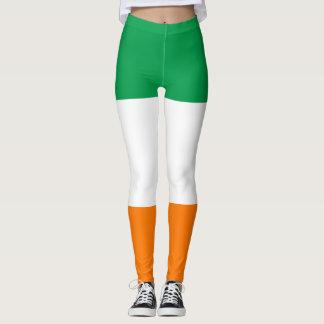 Flagge von Irland-Gamaschen Leggings