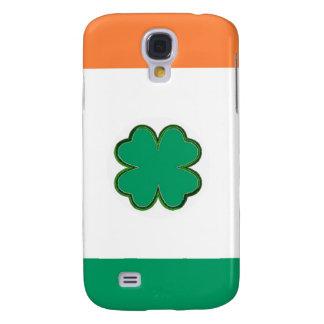Flagge von Irland-Kleeblatt Galaxy S4 Hülle