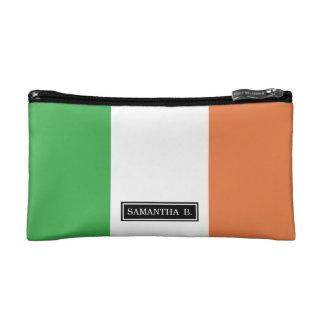 Flagge von Irland Kosmetiktasche