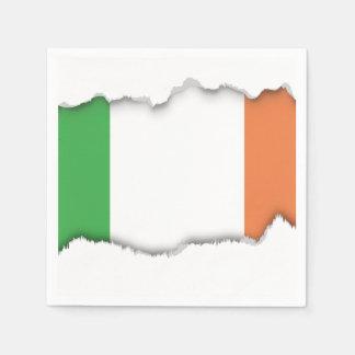 Flagge von Irland Serviette