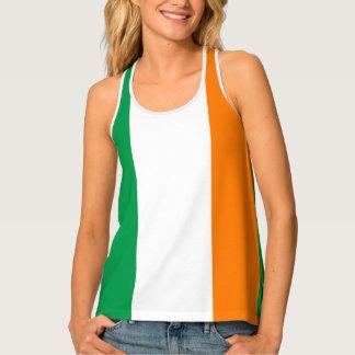 Flagge von Irland Tanktop