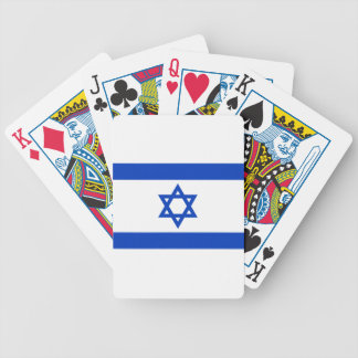 Flagge von Israel - דגלישראל - ישראלדיקעפאן Bicycle Spielkarten