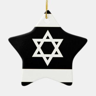 Flagge von Israel - דגלישראל - ישראלדיקעפאן Keramik Ornament