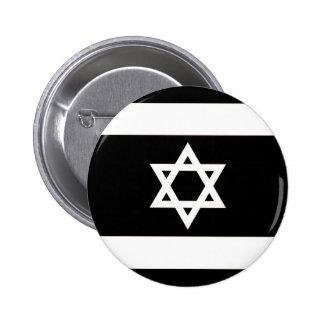 Flagge von Israel - דגלישראל - ישראלדיקעפאן Runder Button 5,7 Cm