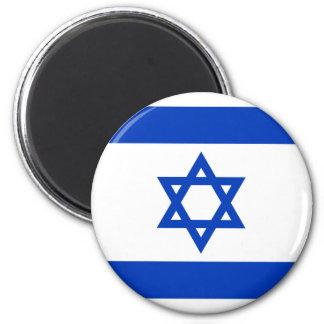 Flagge von Israel - דגלישראל - ישראלדיקעפאן Runder Magnet 5,7 Cm
