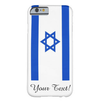 Flagge von Israel Barely There iPhone 6 Hülle