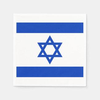 Flagge von Israelpapierservietten Papierserviette