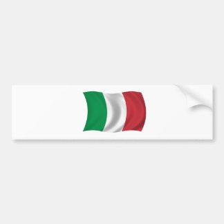 Flagge von Italien Autoaufkleber