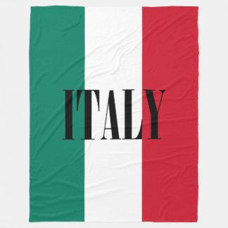 Flagge von Italien Fleecedecke