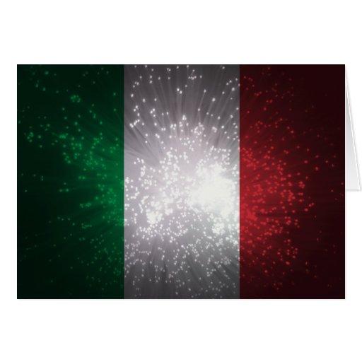 Flagge von Italien Karten