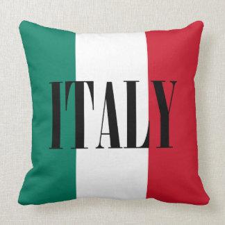 Flagge von Italien Kissen