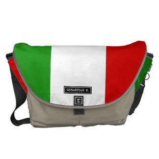 Flagge von Italien Kuriertasche