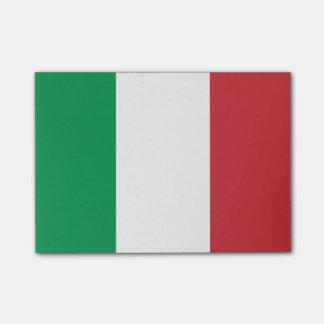 Flagge von Italien Posten-it® Anmerkungen Post-it Klebezettel
