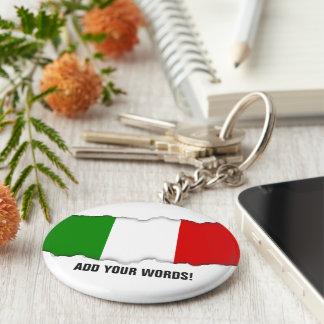 Flagge von Italien Schlüsselanhänger