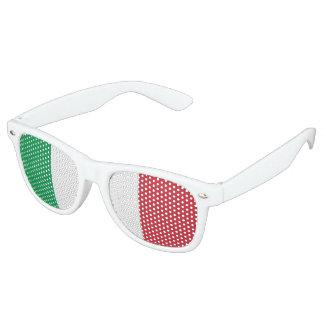 Flagge von Italien, Spaß-Italiener-Flagge Sonnenbrille