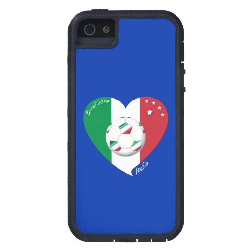 Flagge von ITALIEN weltweiter FUSSBALL Sieger 2014 iPhone 5 Hülle