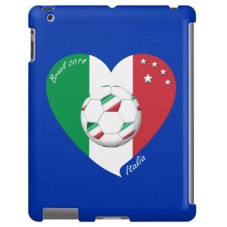 Flagge von ITALIEN weltweiter FUSSBALL Sieger 2014