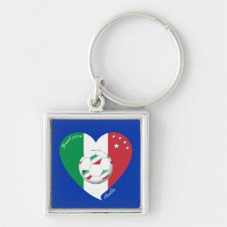 Flagge von ITALIEN weltweiter FUSSBALL Sieger 2014 Schlüsselband
