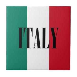 Flagge von Italiener Italiens Italien Fliese