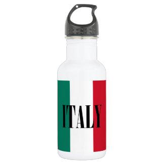Flagge von Italiener Italiens Italien Trinkflasche