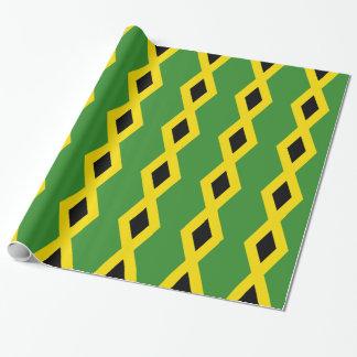 Flagge von Jamaika Geschenkpapier