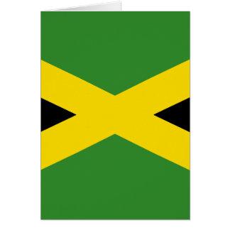 Flagge von Jamaika Karte