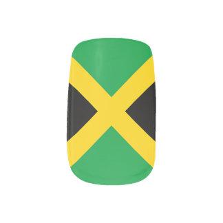 Flagge von Jamaika Minx Nagelkunst