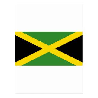 Flagge von Jamaika Postkarte