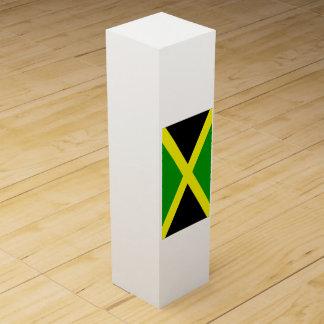 Flagge von Jamaika Weinbox