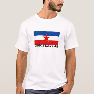 Flagge von Jugoslawien (1945-1992) T-Shirt