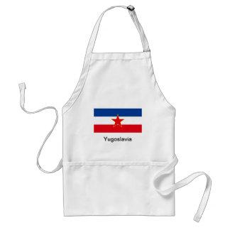 Flagge von Jugoslawien Schürze