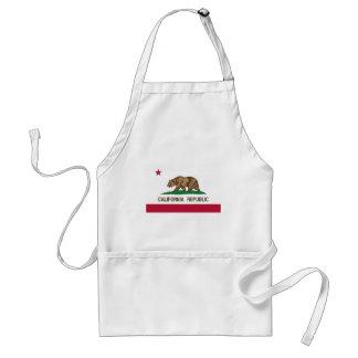 Flagge von Kalifornien Schürze
