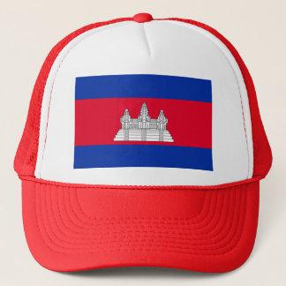 Flagge von Kambodscha - kambodschanische Flagge Truckerkappe