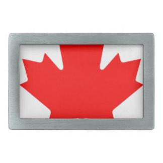 Flagge von Kanada - Drapeau DU Kanada Rechteckige Gürtelschnalle