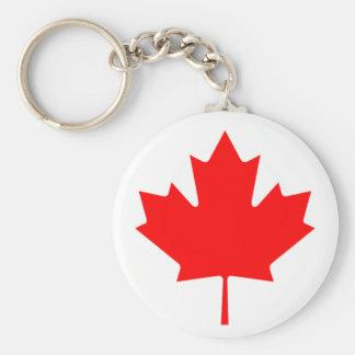 Flagge von Kanada - Drapeau DU Kanada Standard Runder Schlüsselanhänger