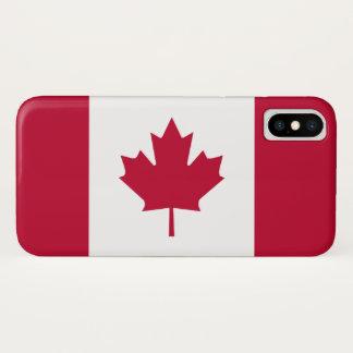 Flagge von Kanada iPhone X Hülle